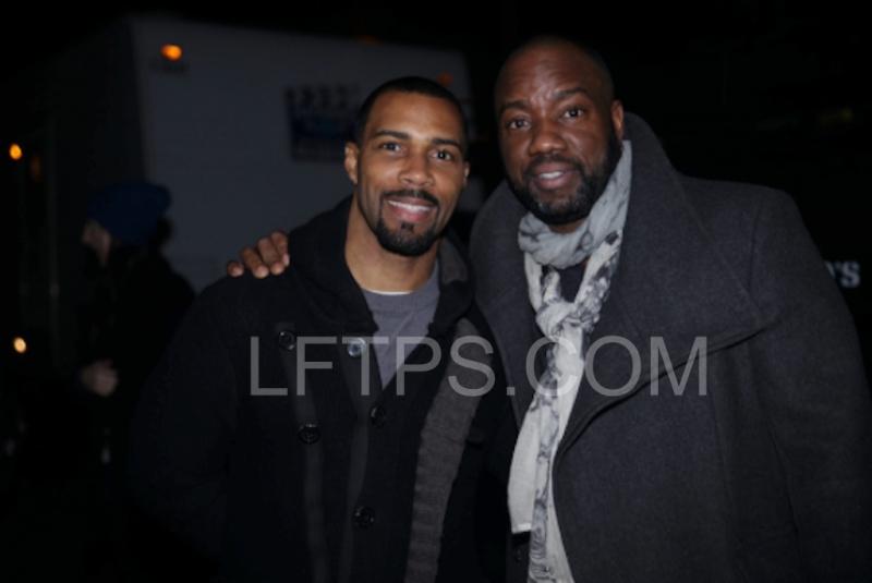 Actors Malik Yoba and Omari Hardwick