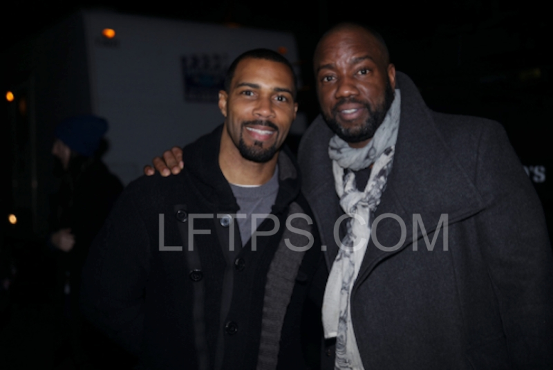 Actors Malik Yoba and Omari Hardwick