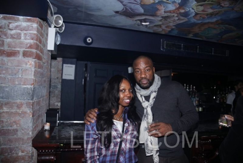 "Ran into Actor Malik Yoba At the Caravelle 'New York"" Watches and Raine Magazine Event"