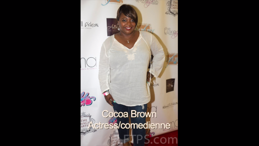 Actress Cocoa Brown Red Carpet Interview