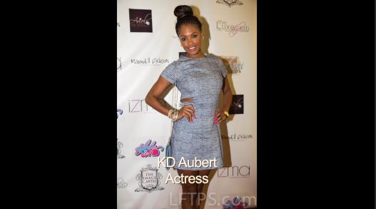 Actress KD Aubert Red Carpet Interview