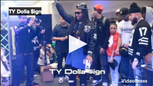 Ty Dolla $ign- Live Performance @ The Bank Sale-Street Wear Expo (LFTPS.com)