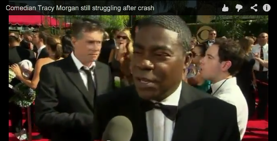 COMEDIAN TRACEY MORGAN IS STILL FIGHTING TO RECOVER AFTER LIMO BUS CRASH