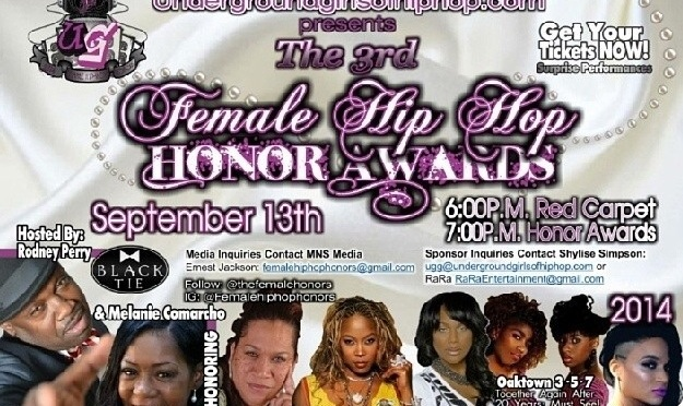 FEMALE HIP HOP HONOR AWARDS *preview* photos