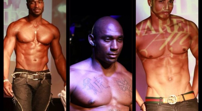 MEN IN HOLLYWOOD GO BARE CHEST FOR BREAST CANCER FASHION SHOW (RECAPS)