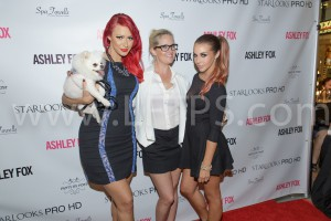 "Ashley Fox Presents ""Color Me Foxy"" the Official Starlooks Pro/HD Cosmetics Launch Party – Arrivals and Inside"