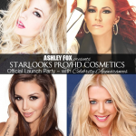 "TARA REID, MARSIELA LUSHA, KAYA JONES AND SCHEANA MARIE (EXCLUSIVE ARRIVAL VIDEO) AT Ashley Fox Presents ""Color Me Foxy"" the Official Starlooks Pro/HD Cosmetics Launch Party"