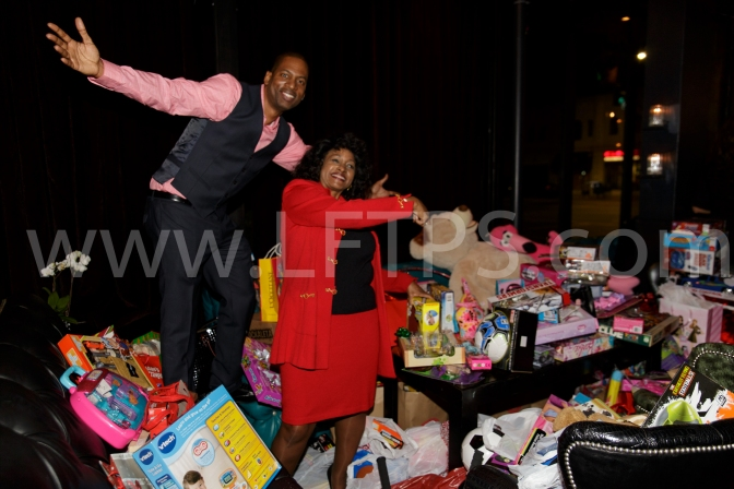"TONY ROCK'S ""LIVE TO LAUGH"" 6TH ANNUAL TOY DRIVE (PHOTO RECAP)"
