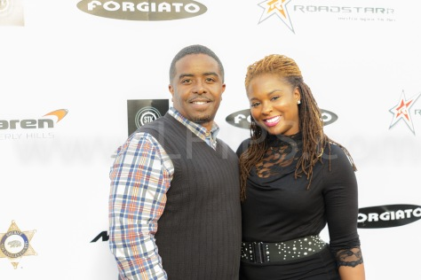 Steven Russell Harts  (From Music Group Troop) and Torrei Hart