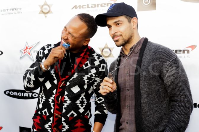 2014 ROADSTARR MOTORSPORTS PARTNERS, TOYS FOR TOTS, ACCESS HOLLYWOOD AND SOLES4SOULS CHARITY FOR CHILDREN IN NEED HOSTED BY  COLUMBUS SHORT AND WILMER VALDERRAMA  (PHOTO RECAPS)