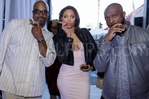 Buddy Lewis, Ciera Payton and Jerome Ro Brooks