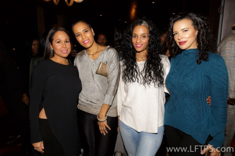 Elizabeth Bonds, Daphne Wayans and Shamicka Lawrence