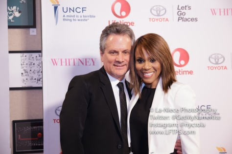 Larry Sanitsky and Deborah Cox