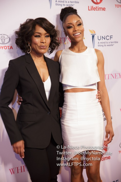 Angela Bassett and Yaya De Costa