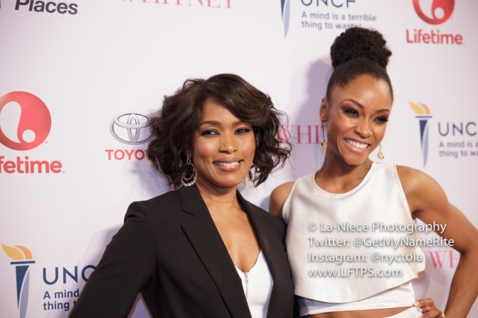 "FLAWLESS! ANGELA BASSETT AND YAYA DE COSTA GAVE LIFE TO THE LIFETIME'S ""WHITNEY"" MOVIE PREMIERE"