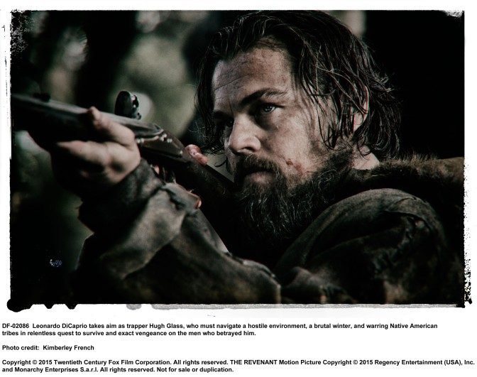 THE REVENANT- LEONARDO DICAPRIO NEW MOVIE ALERT