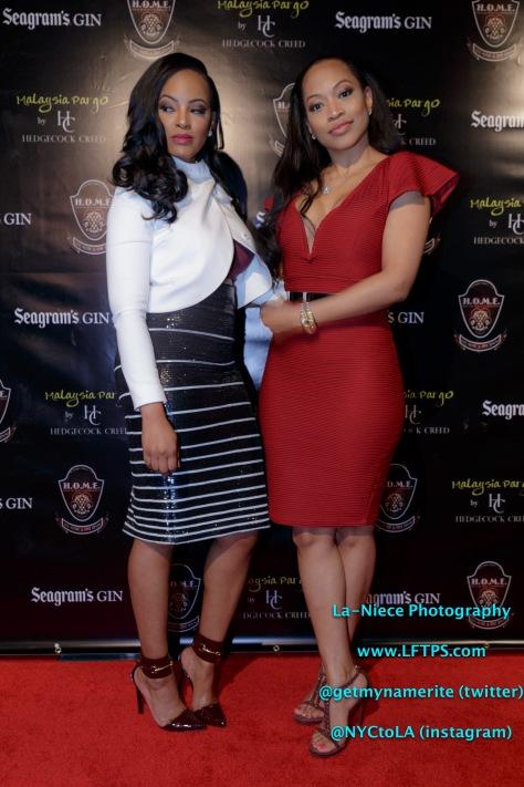 Malaysia Pargo and Monyetta Shaw (Atlanta Ex's)
