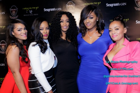 Mehgan James, Malaysia Pargo, Tami Roman, Brandi Maxwell and Patrice Curry