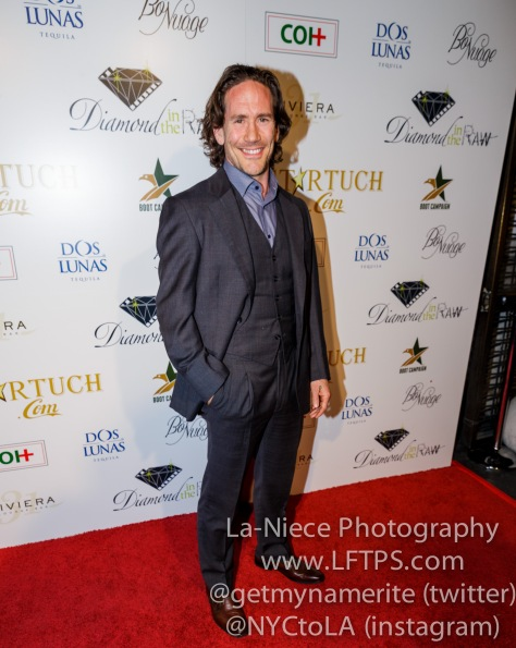 Neil Napier at the 1st Annual Startuch Charity Gala
