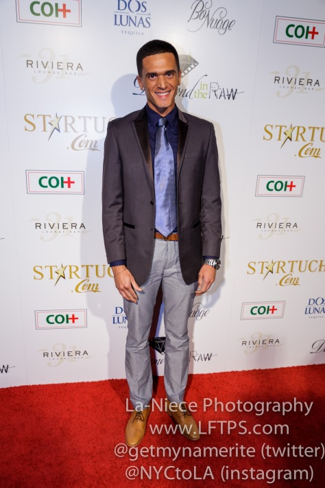 Vinicius Machado at the 1st Annual Startuch Charity Gala