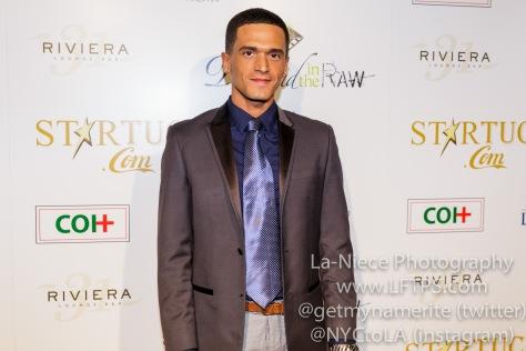 Vinicius Machado at the 1st Annual Startuch Charity Gala