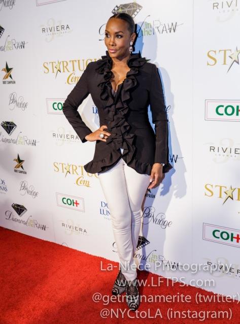 Vivica A. Fox at the 1st Annual Startuch Charity Gala