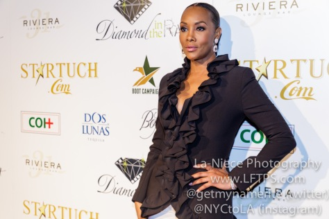 Vivica A. Fox at the 1st Annual Startuch Charity Gala