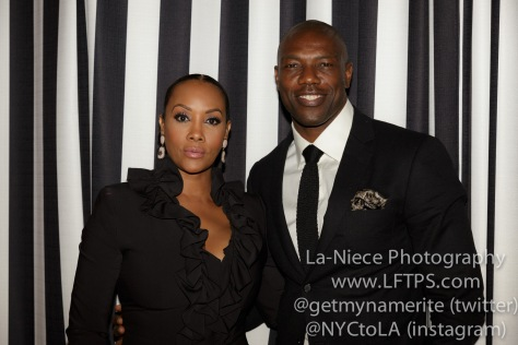 Vivica A. Fox and Terrell Owens at the 1st Annual Startuch Charity Gala