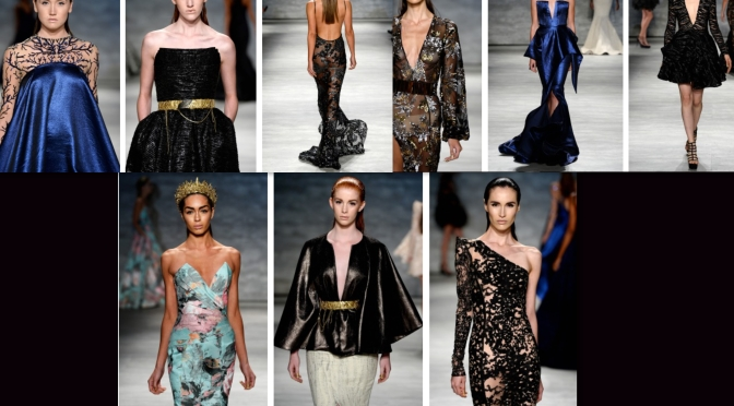 MICHAEL COSTELLO OH MY! AT NEW YORK MERCEDES BENZ FASHION WEEK F/W 2015 (VIDEO RECAP)
