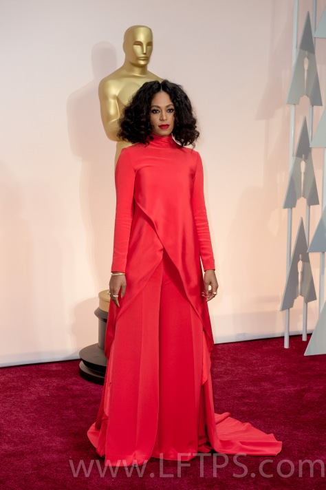 Solange Knowles at the Oscars 2015