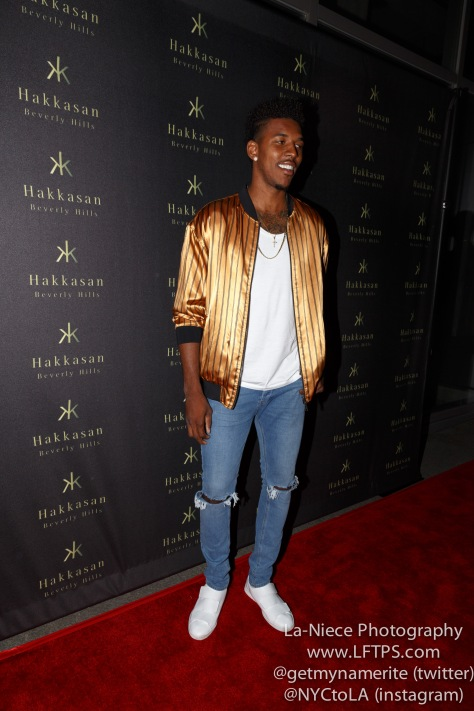NICK YOUNG AT FLAUNT MAGAZINE HONORS NORMAN REEDUS WITH CULT OF INDIVIDUALITY AT HAKKASAN BEVERLY HILLS