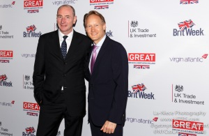 Andy Bird, Chris O'Connor at  Brit Week 2015