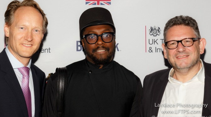 Chris O'Connor, Will.i.Am, Lucian Graines at Brit Week 2015