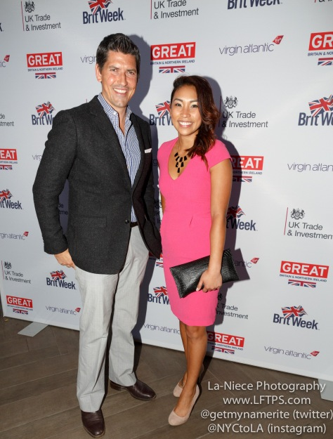 Ryan Meyer and Kat Yalung at Brit Week 2015