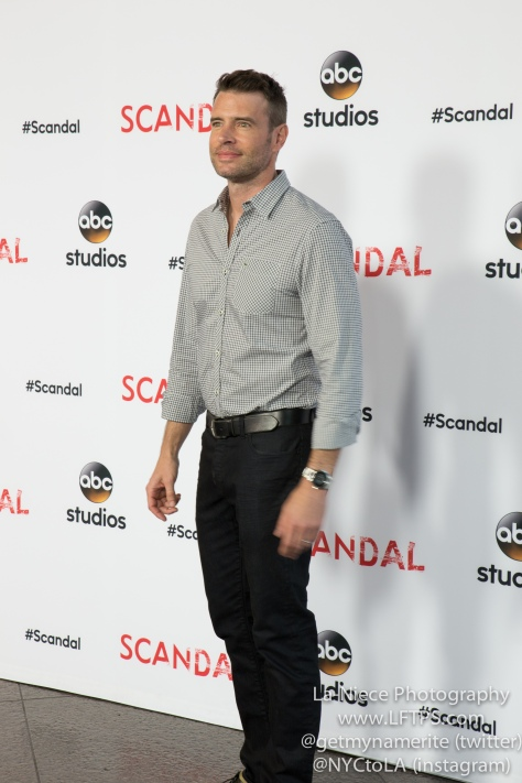 Scott Foley at ABC's Scandal ATAS Event
