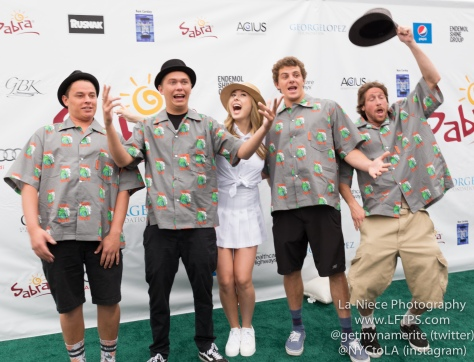 Tunnel Vision and Lizzy Small at the 8th Annual George Lopez Celebrity Golf Tournament