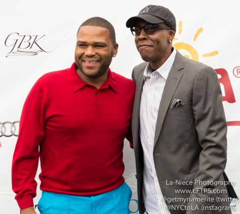 Anthony Anderson and Arsenio Hall at the 8th Annual George Lopez Celebrity Golf Tournament