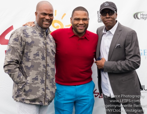 Chris Spencer, Anthony Anderson and Arsenio Hall at the 8th Annual George Lopez Celebrity Golf Tournament