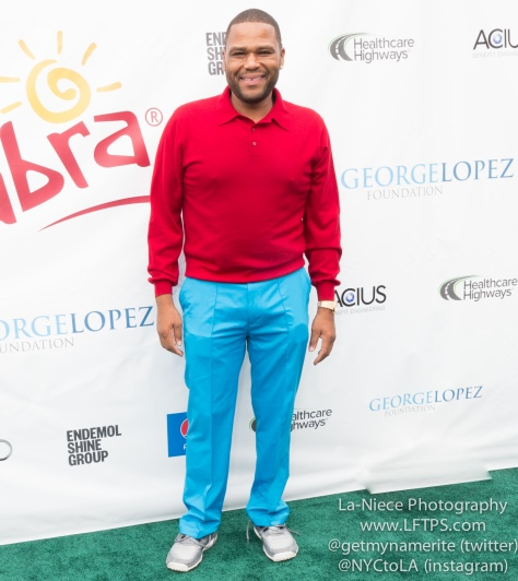 Anthony Anderson at the 8th Annual George Lopez Celebrity Golf Tournament