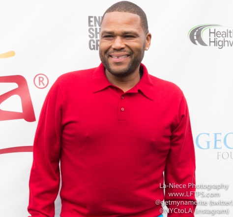 Anthony Anderson at the 8th Celebrity Golf Tournament