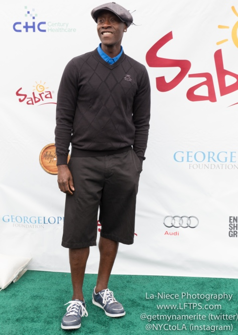 Don Cheadle at the 8th Annual George Lopez Celebrity Golf Tournament