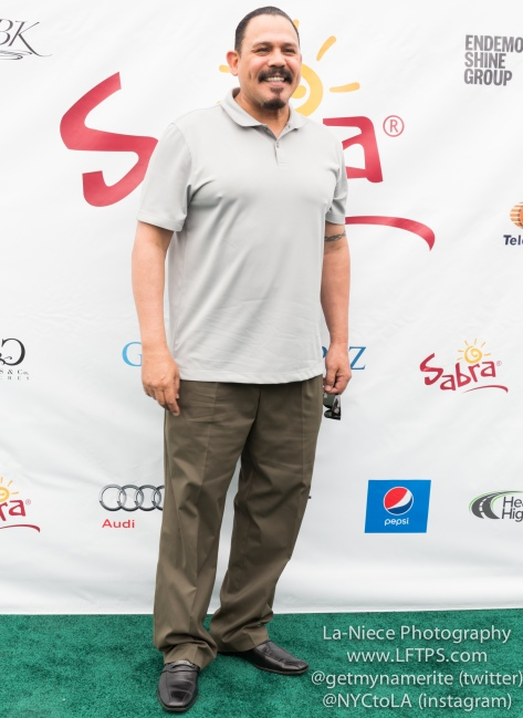 Emilio Rivera at the 8th Annual George Lopez Celebrity Golf Tournament