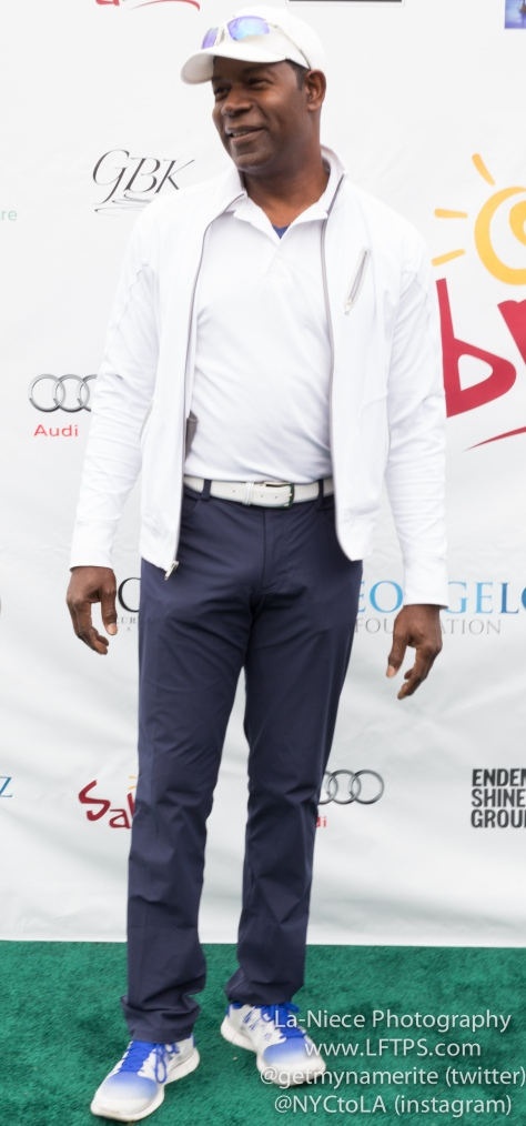 Dennis Haysbert at the 8th Annual George Lopez Celebrity Golf Tournament
