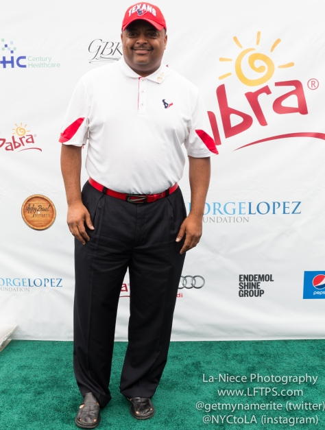 Roland Martin at the 8th Annual George Lopez Celebrity Golf Tournament