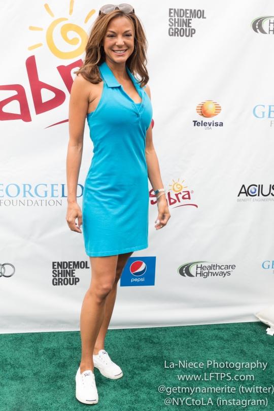 Eva La Rue at the 8th Annual George Lopez Celebrity Golf Tournament