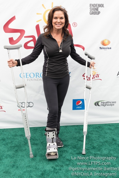 Paula Trickey at the 8th Annual George Lopez Celebrity Golf Tournament