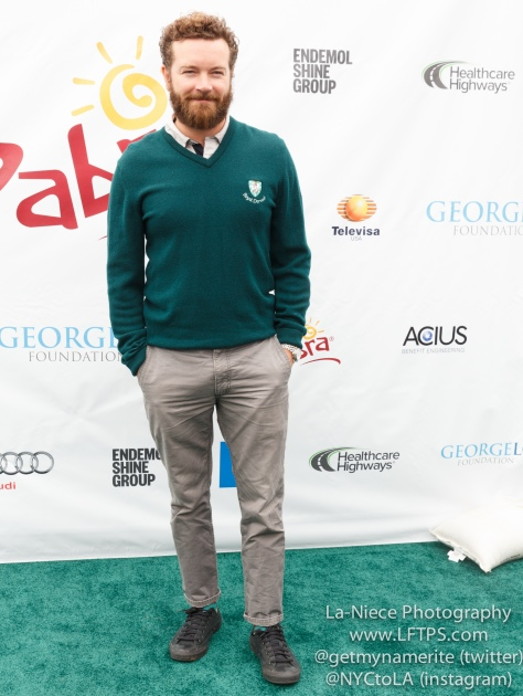 Danny Masterson at the 8th Annual George Lopez Celebrity Golf Tournament