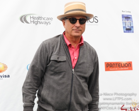 Andy Garcia at the 8th Annual George Lopez Celebrity Golf Tournament
