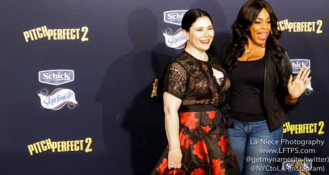 Alex Borstein, Niecy Nash AT PITCH PERFECT 2 MOVIE PREMIERE- LOS ANGELES