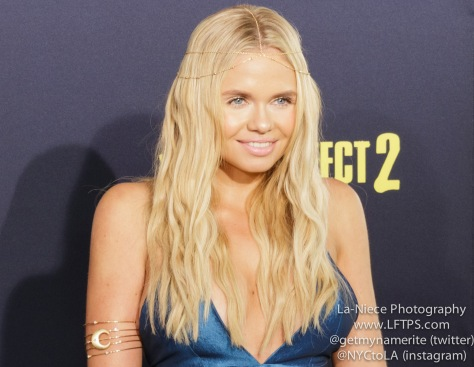 Ali Simpson AT PITCH PERFECT 2 MOVIE PREMIERE- LOS ANGELES